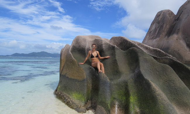 hough it's filled with beautiful scenery, Seychelles in much more that that. Source D'Argent