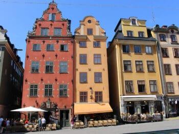 Stockholm Sweden in the Summertime