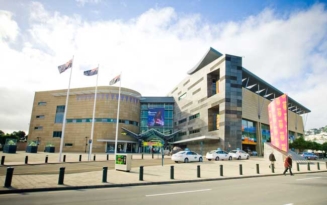 Te Papa in Wellington, New Zealand