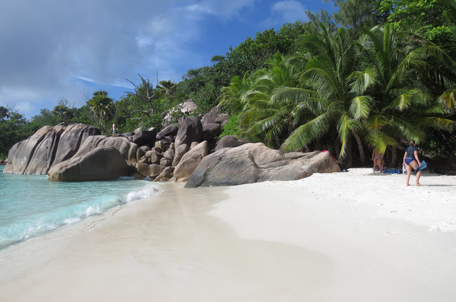 A relaxing day on the beach in Seychelles. Photo courtesy Nicoletta Pavese