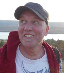 Travel journalist Adrian Sterkfontein