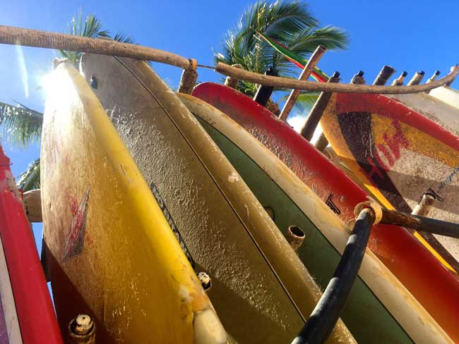 Surfboards are available to rent in Waikiki. Photo by The Aulani is a family-friendly Disney resort on the Hawaiian island of Oahu. Photo by Rina Baraz Nehdar