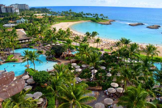 The Aulani is a family-friendly Disney resort on the Hawaiian island of Oahu. Photo by Rina Baraz Nehdar