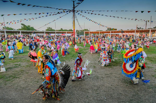 Pow wow in South Dakota. Photo by Travel South Dakota