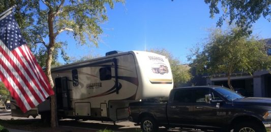 Maiden RV Voyage: Living and Working from an RV