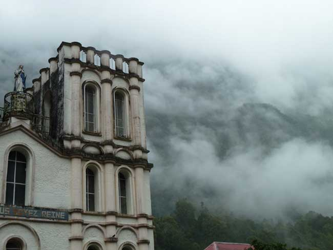 Salazie church on Reunion Island. Photo by A. Rorvik