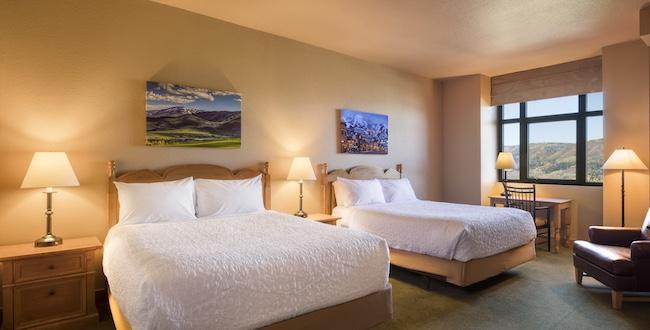 Double queen guest room. ©2017 Larry Pierce/Steamboat Ski Resort