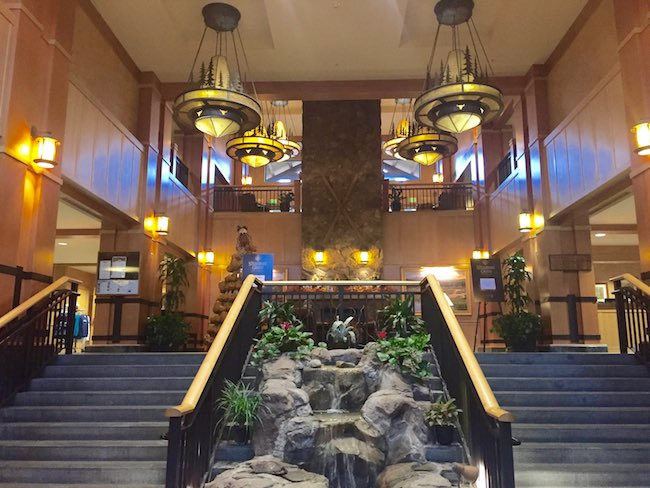 Grand staircases leading to the lobby. Photo by Claudia Carbone