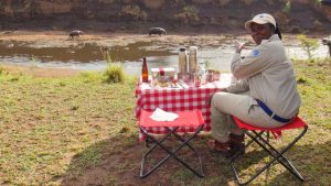 Searching for Rhinos, Eating Breakfast with Hippos in Kenya