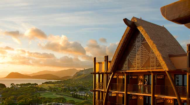 Aulani, a Disney Resort & Spa, is located on the Hawaiian island of Oahu.