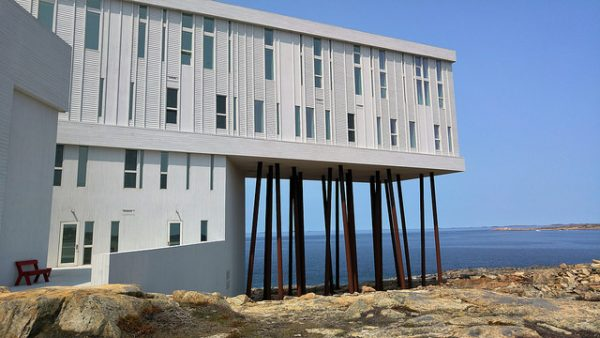The Fogo Island Inn in Newfoundland, Canada. Photo by Flickr/ayphella