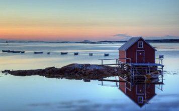 Joe Batt's Arm, Fogo Island, Newfoundland. Photo by Flickr/Timothy Neesam