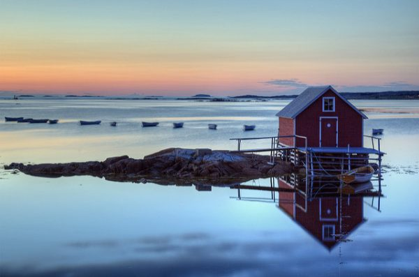 Joe Batt's Arm, Fogo Island, Newfoundland. Photo by Flickr/Timothy Neesam