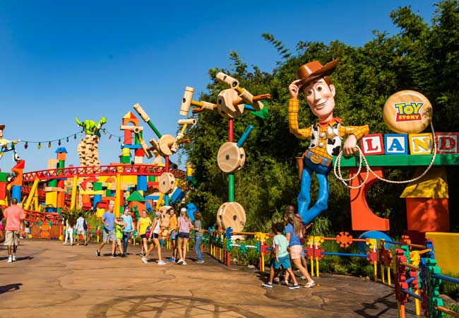 Toy Story Land is the newest addition to Disney's Hollywood Studios. Photo by Matt Stroshane