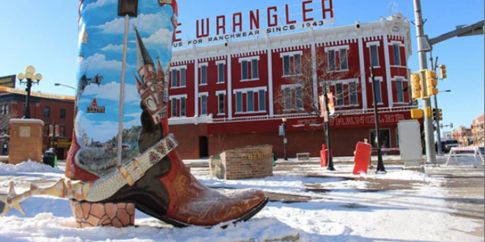 Boot program in Cheyenne, WY during winter