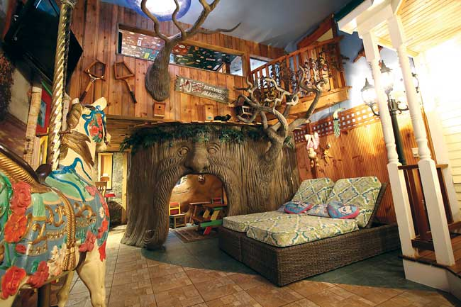 An Adventure Suites Treehouse. Photo by Adventure Suites