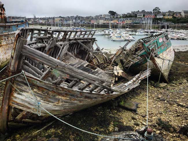 Camaret sur Mer. Photo by Rich Grant