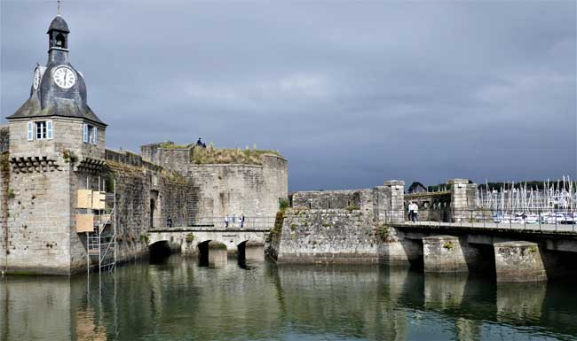 Fortress in Cocarneau, Brittany. Photo by Rich Grant
