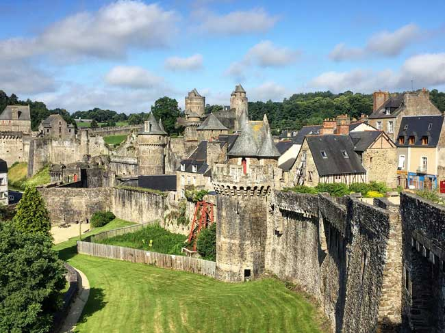 Fougeres is a must-see destination in Brittany, France. Photo by Rich Grant