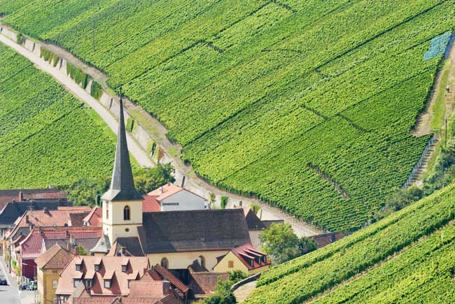 Traveling in Franconian Wine Country. Photo by FrankenTourismus/FWL/Hub