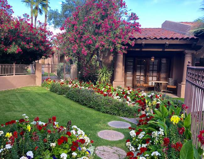 The Hermosa Inn gardens and casita. Photo by Claudia Carbone