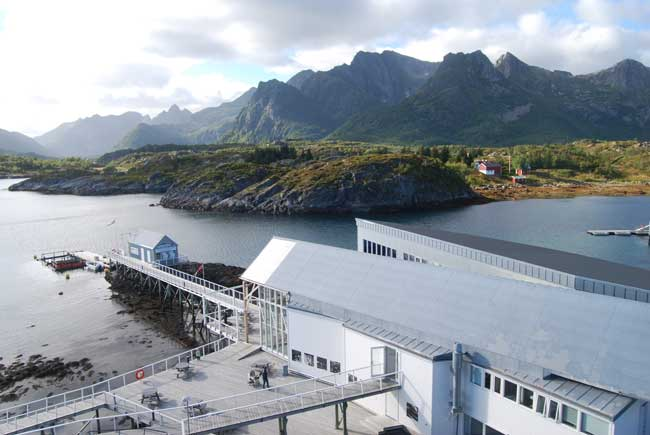 The Lofoten Aquarium in Kabelvag. Photo by Jennifer Baines