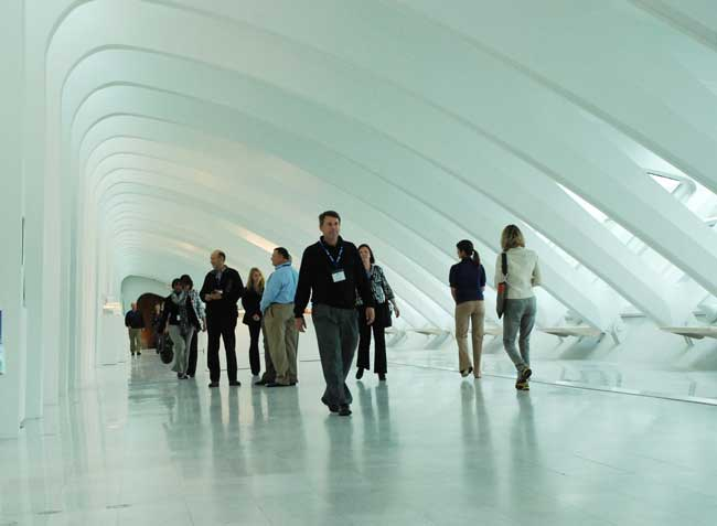 Inside the Milwaukee Art Museum. Photo by Visit Milwaukee