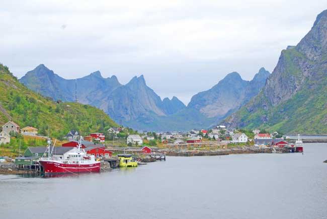 Reinefjorden in the Lofoten Islands. Photo by Jennifer Baines