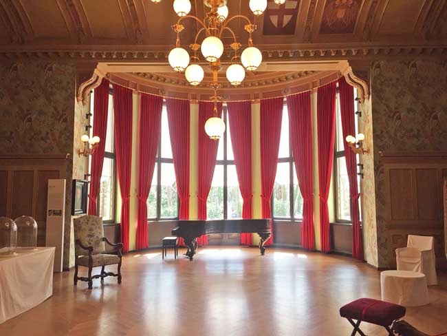 Richard Wagner's home in Bayreuth, Germany is now a museum which provides insight into the life of the German composer. Photo by Janna Graber