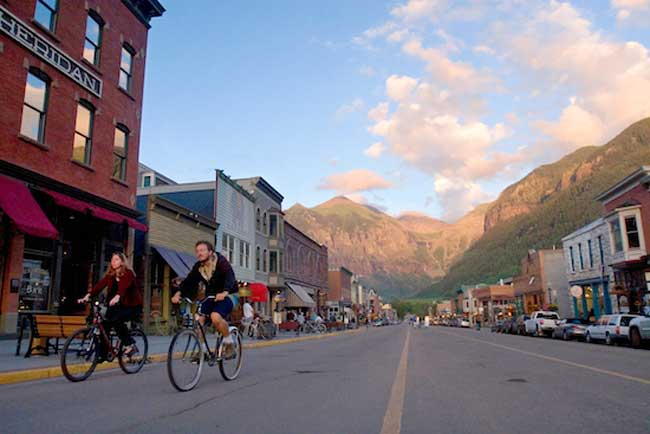 Labor Day Weekend in Telluride, Colorado