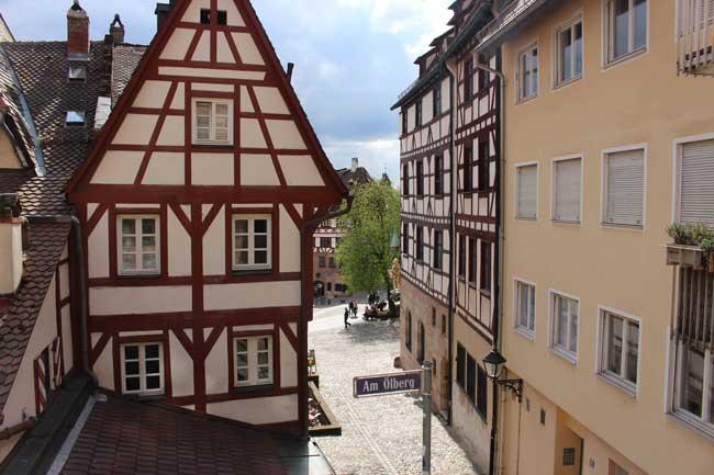 Exploring Old Town Nuremberg. Photo by Janna Graber
