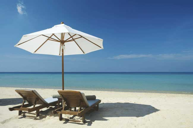 The best honeymoon destinations offer quiet time to be together.