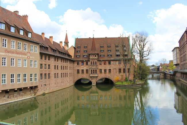 Nuremberg, Germany is the largest city in Franconia. Photo by Janna Graber