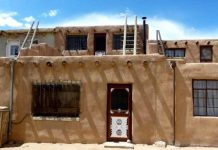 A typical Acoma Pueblo house Photo by Claudia Carbone