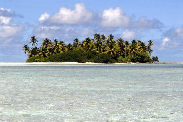 One of the 27 islands of the Cocos Keeling Islands. Photo by Nina Burakowski