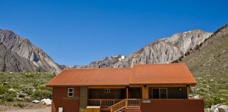 Laurel Ridge Lodge. Photo courtesy of Convict Lake Resort