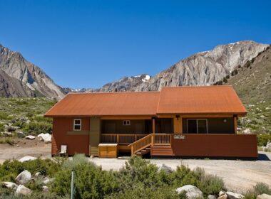 Laurel Ridge Lodge. Photo courtesy of Convict Lake Resort