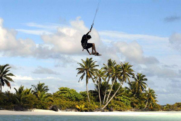 Kitesurfing paradise. Photo by Nina Burakowski