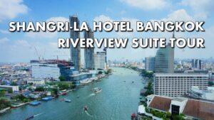 Visiting the Shangri-La Hotel, Bangkok