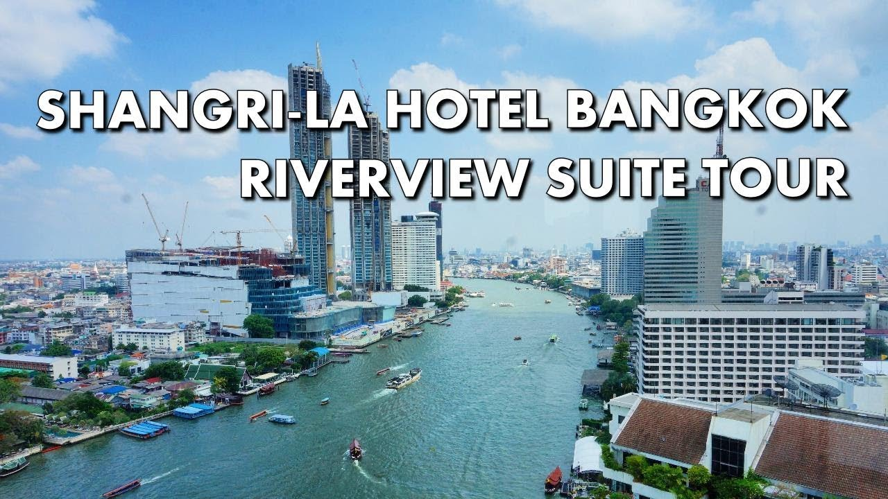 Visiting the Shangri-La Hotel, Bangkok