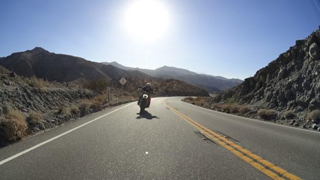CA 74 motoryclce ride