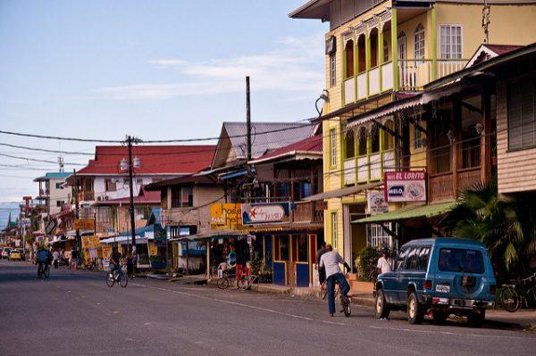 The main street in Bocas del Toro. Photo by Flickr/Roman Königshofer