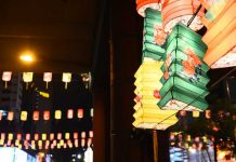 Handcrafted lanterns at Singapore's Mid-Autumn Festival