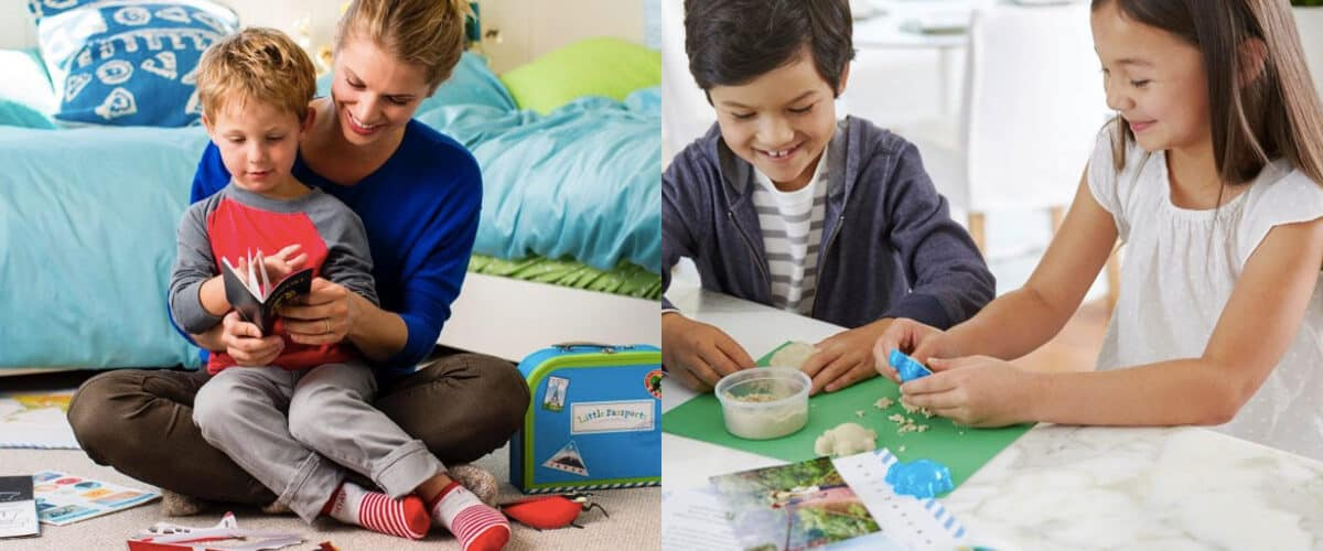 Little Passports learning kits for kids.
