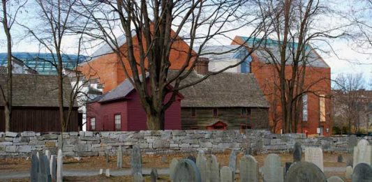 Halloween in Salem, Massachusetts