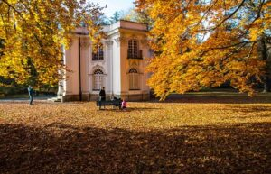 Autumn at Bavaria's Nymphenburg Palace: A Step Back in Time