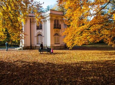 Autumn at Nymphenburg Palace. Phobo by Werner Boehm