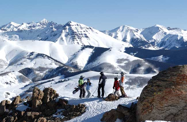 Crested Butte, Colorado is an excellent winter destination for families. Photo by Colorado Tourism