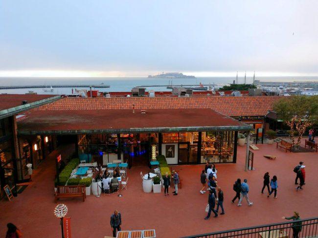 Ghirardelli Square view