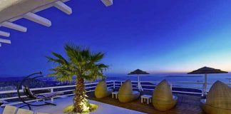 Villa Perla is a luxury villa in Mykonos, Greece.